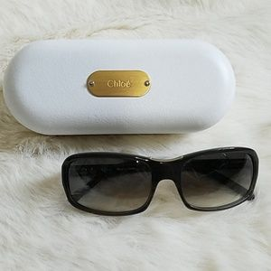 Chloé Sunglasses Like New w/ Case